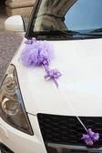 婚礼汽车装饰 — 图库照片
