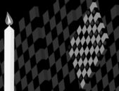 Abstract background, vector style, checkers in 3D — Vector de stock