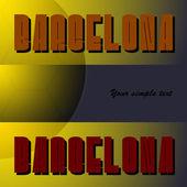 барселона — Cтоковый вектор