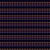 Patrón de puntos de diferentes colores — Vector de stock