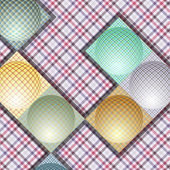 Abstract pattern from balls of different colors — 图库矢量图片