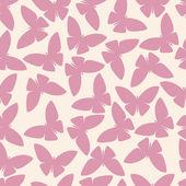 Bezešvé vzor nebo abstraktní motýl v vektor stylu — Stock vektor