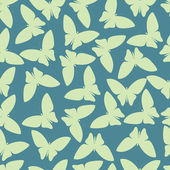 Seamless pattern or abstract butterfly in vector style — Vecteur