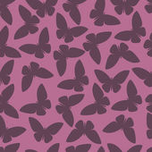 Seamless pattern or abstract butterfly in vector style — Stock Vector