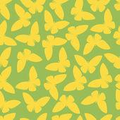 Seamless pattern o farfalla astratta in stile vettoriale — Vettoriale Stock