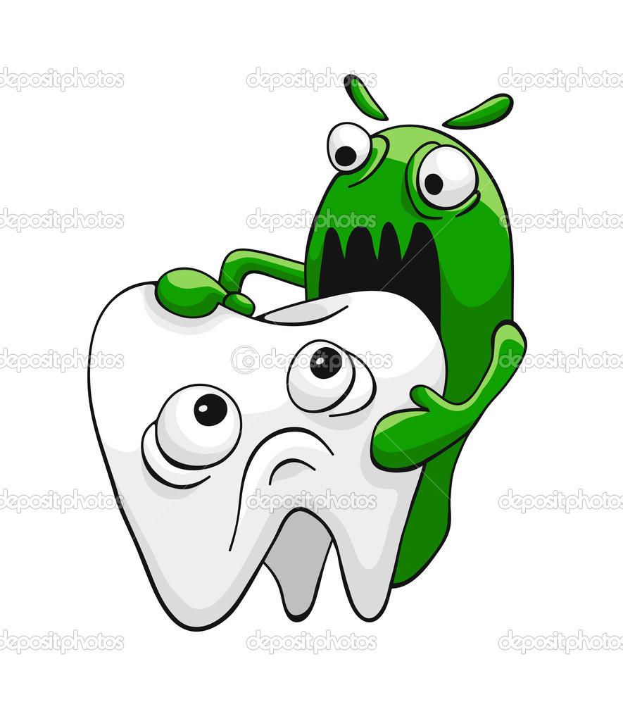 dente e as bact u00e9rias vetor de stock  u00a9 chorniy10 21447463 Cartoon Toothbrush Turtle Clip Art Black and White
