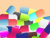 таблетки — Cтоковый вектор