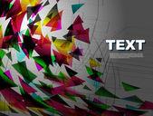 Colorful wallpaper — Stock Vector