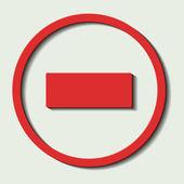 Verkeerde richting — Stockvector