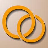 Kruh uvnitř — Stock vektor