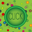 Click the button — Stock Vector