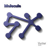 Molecule — Stock Vector