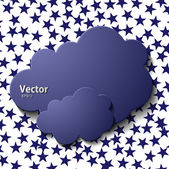 Cloud icon — Vettoriale Stock