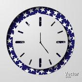 Horloge — Stockvector