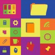 Set of icon for office — Stock Vector #30105385