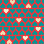 textura do coração — Vetorial Stock