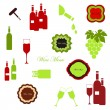 Wine set — Stock Vector #30589023