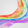 Rainbow Abstract background. — Stock Vector