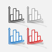 Grafico aziendale — Vettoriale Stock