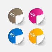 Business pie chart — Stock Vector