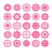 Sticker de fleurs — Vecteur