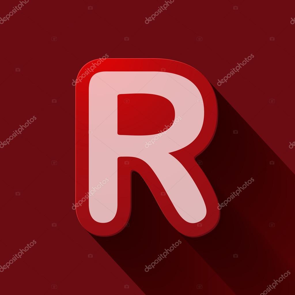 字母r — 图库矢量图像08