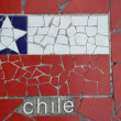 flag of chile — Stock Photo