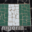 Stock Photo: Flag of Nigeria