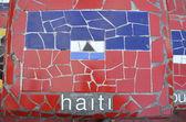 Flag of Haiti — Stock Photo