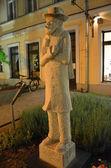 Pomnik heinrich zille w berlinie — Zdjęcie stockowe