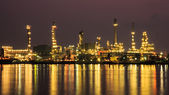 Oil Refinery at Bangkok Thailand. — Stock Photo