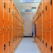 Locker Room in Sport Center. — Stock Photo