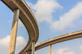 Industrial Ring Road Bridge in Thailand. — Stock Photo
