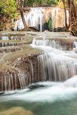 Erawan Waterfall, Kanchanaburi, Thailand. — Stock Photo