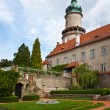 Castle Nove Mesto nad Metuji — Stock Photo