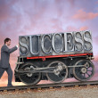 Stock Photo: Success 2