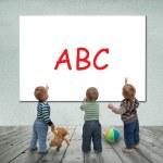 Baby school — Stock Photo #38144933
