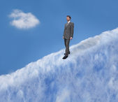 A Walk in the Clouds — Stock Photo