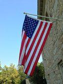 Den amerikanska flaggan. — Stockfoto