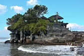 Tanah Lot temple on Bali, Indonesia — Stock Photo