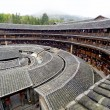 Hakka Roundhouse tulou walled village located in Fujian, China — Stock Photo
