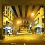 Megacity Highway at night — Stock Photo