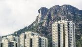 Hong Kong Housing landscape under Lion Rock — Stock Photo