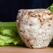 Fresh celery root — Stock Photo