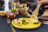 Raclette — Stockfoto