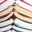 Stack of open books — Stock Photo #23281104