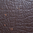 Stock Photo: Brown leather texture