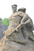 World War II Memorial in Volgograd — Stock Photo