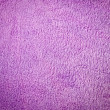 Stock Photo: Purple terry cloth background