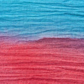 Red and blue textile background — Stock Photo